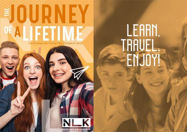 Catálogo Viajes de Estudio. Newlink Education